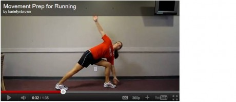 Dynamic Warmup for Running
